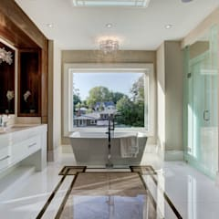Luxurious Bathroom:  Bathroom by Lorne Rose Architect Inc.,