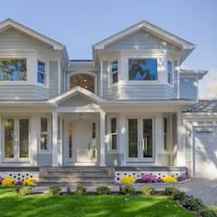 Newly constructed energy efficient 2,800sf single family residnece  : colonial Houses by HOMEREDI