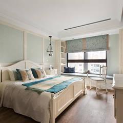 غرفة نوم تنفيذ 辰林設計實業有限公司