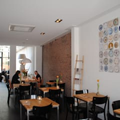 Restaurantes de estilo  por halma-architecten, Moderno