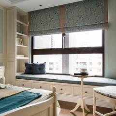 Dormitorios de estilo rural de 辰林設計實業有限公司 Rural