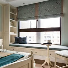 Bedroom by 辰林設計實業有限公司