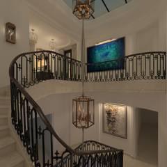 Kerim Çarmıklı İç Mimarlık – M.P. Residence:  tarz Koridor ve Hol