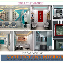Eye Care Pune:  Clinics by Absolute Architect and Interiors
