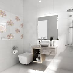 Bathroom by 綠藝營造