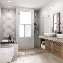 房屋新建 整修修繕  農舍別墅 景觀工程:  浴室 by 綠藝營造