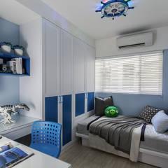 Dormitorios de estilo  por 祥祥設計有限公司