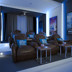 Media room by m.frahat