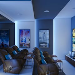 Media room by m.frahat, Minimalist
