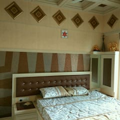 Bedroom 1: eclectic  by MARIA DECOR,Eclectic