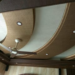 Hall Ceiling 1: eclectic  by MARIA DECOR,Eclectic