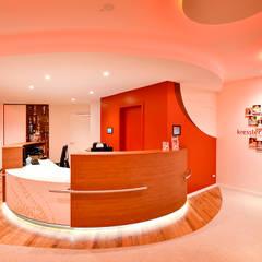 Designkonzept für ein Tanzcentrum/ Tanzschule in Hannover:  Arbeitszimmer von FARBCOMPANY