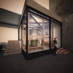 Sismo Gallery : Estudios y oficinas de estilo  por FUNDAMENTAL ,