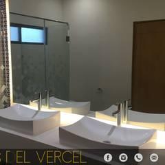 LOMAS DEL VERGEL/LG: Baños de estilo  por ADC arquitectos