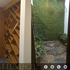 LOMAS DEL VERGEL/LG: Jardines de estilo  por ADC arquitectos