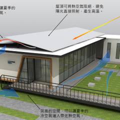 Rumah by 石方室內裝修有限公司