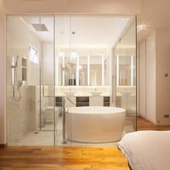 soo chow graden:  Bathroom by Renozone Interior design house