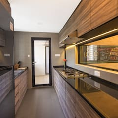 30 Upper Serangoon View:  Kitchen by Renozone Interior design house