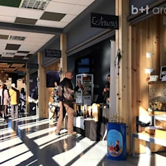 Shopping Centres by b+t arquitectos