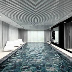 aranżacja basenu: styl , w kategorii Basen zaprojektowany przez ARTDESIGN architektura wnętrz