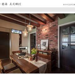 Ruang Makan oleh 大不列顛空間感室內裝修設計