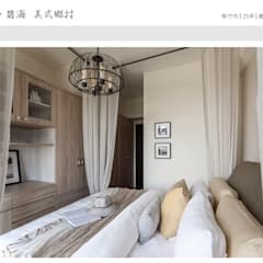 غرفة نوم تنفيذ 大不列顛空間感室內裝修設計