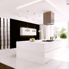 LESZCZYNOWA – KUCHNIA: styl , w kategorii Kuchnia zaprojektowany przez Studio3Design