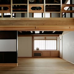 tdi 古民家 現地再生: 西本建築事務所 一級建築士事務所が手掛けた和室です。,クラシック