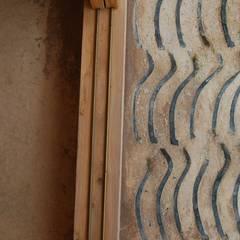 玄関敷居と土間玄関: 環アソシエイツ・高岸設計室が手掛けた廊下 & 玄関です。