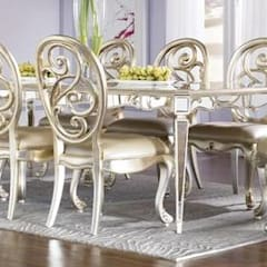 Interior:  Dining room by  Perfect Interiors