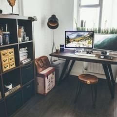 working space:  Arbeitszimmer von Cocooninberlin