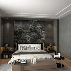 Modern style bedroom by Murat Aksel Architecture Modern Marble