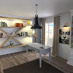 Study/office by Murat Aksel Architecture