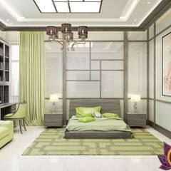 Bedroom design ideas of Katrina Antonovich 1: minimalistic Bedroom by Luxury Antonovich Design