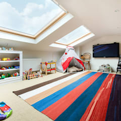 Netherton Grove:  Nursery/kid's room by Orchestrate Design and Build Ltd.