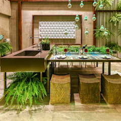 Marcos Gouvêa Arquitetura의  레스토랑