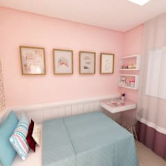 Nursery/kid's room by Grafite - Arquitetura e Interiores, Classic