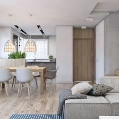 Dining room by BAGUA Pracownia Architektury Wnętrz
