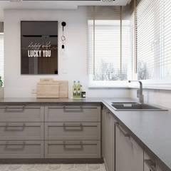 مطبخ تنفيذ BAGUA Pracownia Architektury Wnętrz