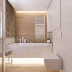Bathroom by BAGUA Pracownia Architektury Wnętrz