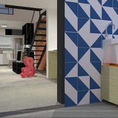 Garajes y galpones de estilo  por kb | arqdesign