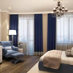 Изумрудная: Спальни в . Автор – Massimos / cтудия дизайна интерьера