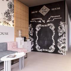 Салон бровей Brow House: Коммерческие помещения в . Автор – PRO-DESIGN