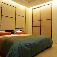 Лёгкий микс: Спальни в . Автор – ARHITEKTO, Азиатский