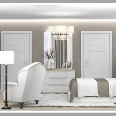 minimalistic Bedroom by Рязанова Галина