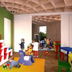 Escuela / guardería.: Escuelas de estilo  de CHAPEAU VERT
