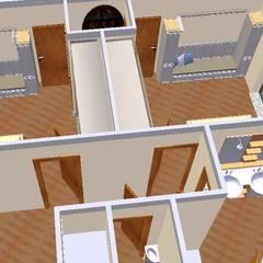 Quarto enfants-3D1: Quartos de criança  por D O M   Architecture interior