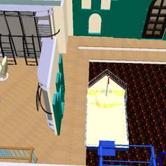 Parque infantil-3D-1: Escritórios e Espaços de trabalho  por D O M | Architecture interior