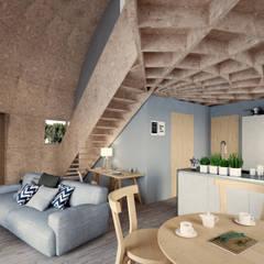 Interior vivienda / casa rural : Hoteles de estilo  de CHAPEAU VERT