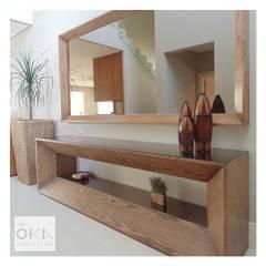 الممر والمدخل تنفيذ Alessandra Orsi - Studio OKA Arquitetura